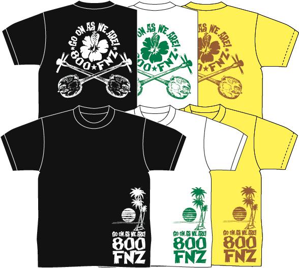 800FNZ T-shirts